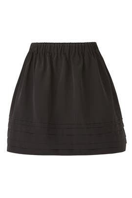 Black Della Skirt by Alexis