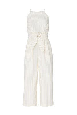 Anabella Stripe Culotte Jumpsuit by Greylin