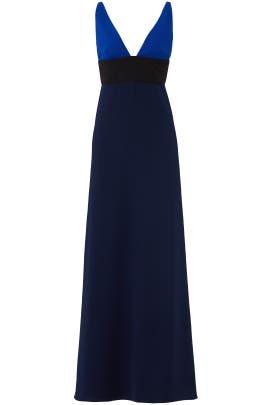 Midnight Blue Gown by Jill Jill Stuart