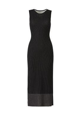 Striped Knit Midi Dress by Jason Wu