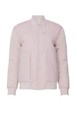 Pink Roam Far Reversible Wool Bomber by Lululemon