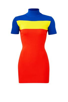 Colorblock Manon Dress by Solace London