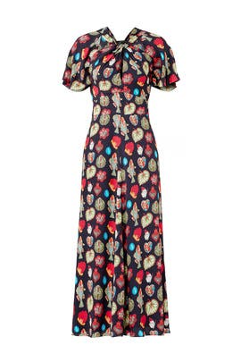 Mix Knot Column Dress by Temperley London