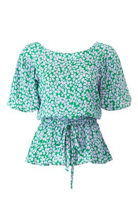 Clover Print Top by Tara Jarmon