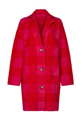 Wice Check Coat by Essentiel Antwerp