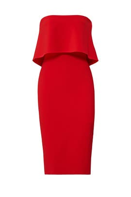 Red Driggs Dress by LIKELY