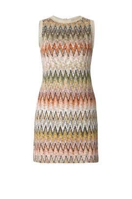 Zig Zag Sleeveless Dress by Missoni