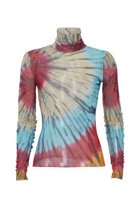 Zadie Tie Dye Turtleneck by AFRM