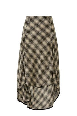 North West Plaid Skirt by Free People