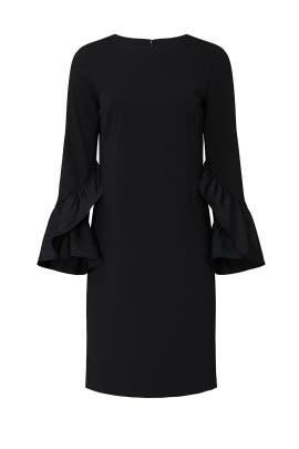 Black Bell Sleeve Dress by Lauren Ralph Lauren