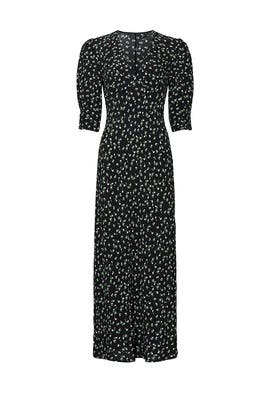 Black Zadie Dress by Rixo London