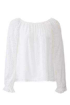 Blooming Eyelet Blouse by Sanctuary