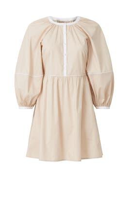 Puff Sleeve Demi Dress by Staud