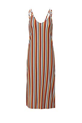 Stripey Loose Fit Dress by MINKPINK