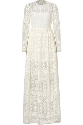 95e3af659790 White Angelic Lace Gown by Philosophy di Lorenzo Serafini for $180 ...