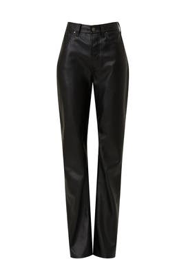 Kat Faux Leather Pants by Anine Bing