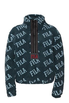 Jayla Half Zip Sweatshirt by FILA
