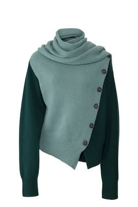 Jade Draped Sweater by JOSEPH