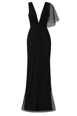 Black Olivia Gown by Katie May
