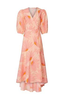 Grand Daisy Wrap Dress by kate spade new york