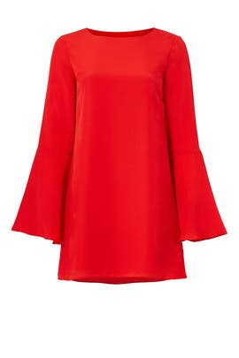 Red Perry Dress by LIKELY