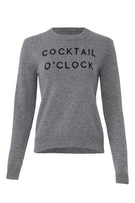 Cocktail O'Clock Sweater by Milly