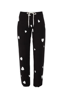 Scattered Hearts Sweatpants by MONROW