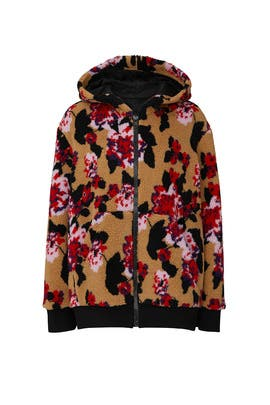 Giubbino Faux Sherling Jacket by MSGM
