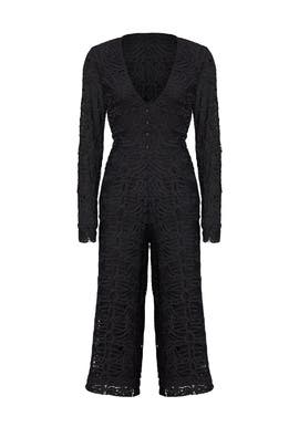 Black Cicily Jumpsuit by TULAROSA