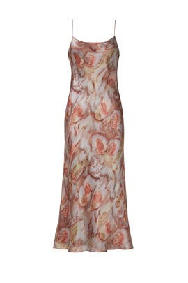 Watercolor Slip Dress by VINCE.