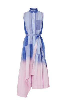 Nerioa Dip Dye Dress by Derek Lam 10 Crosby