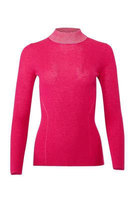 Pink Dione Sweater by DREYDEN
