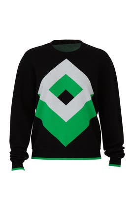 Cube Crew Neck Sweater by Diane von Furstenberg