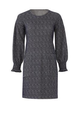 Jacquard Shift Dress by sita murt