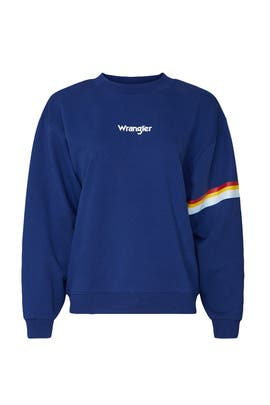 80s Retro Sweatshirt by WRANGLER