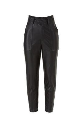 Spencer Vegan Leather Pants by Greylin