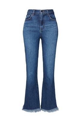Julia HIgh Rise Flare Jeans by J BRAND