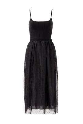 Black Balletic Dress by RED Valentino