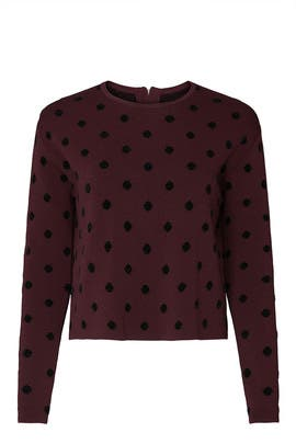Polka Dot Pullover by Thakoon Collective