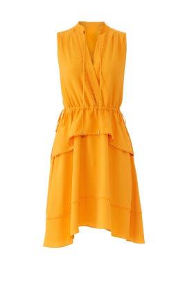 Saffron Tiered Dress by Derek Lam 10 Crosby