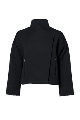 Black Kellan Jacket by Elizabeth and James