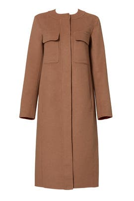 Miller Cocoon Coat by Elizabeth and James
