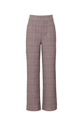Plaid Pants by GANNI