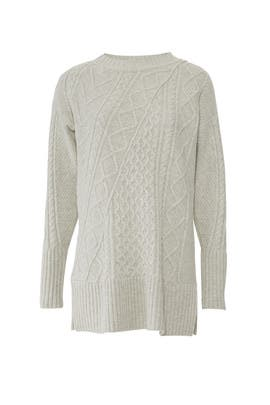 Grey Lonnie Sweater by J.Crew