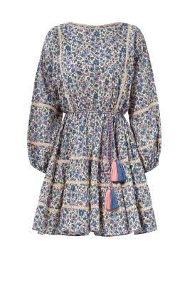 Floral Noelle Dress by LoveShackFancy