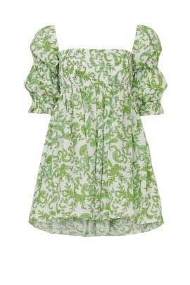 Green Zadie Dress by MISA Los Angeles