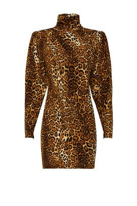 Leopard Adina Dress by Ronny Kobo