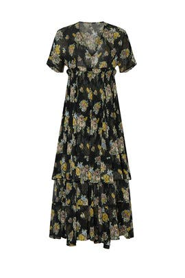 Floral Printed Quintina Dress by Brock Collection
