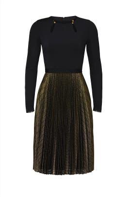 Metallic Nicki Dress by CATHERINE DEANE