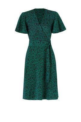 Flutter Wrap Dress by Diane von Furstenberg